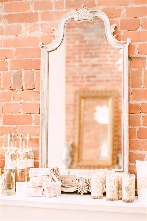 chalk paint in st louis brushed vintage gold mirror in sloan chalk