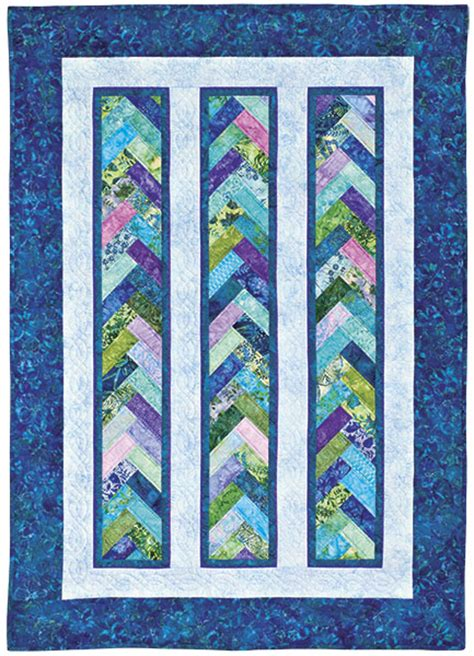 Braid Quilt Free Pattern by Quilt In A Day Eleanor Burns Braid In A Day Quilt Sewing