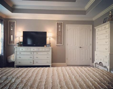 perfect greige bedroom master bedroom decor white decor perfect greige by sherwin williams painted furniture home