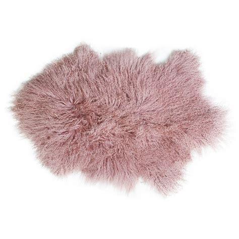 luxury sheepskin rug luxury tibetan sheepskin rug pink audenza