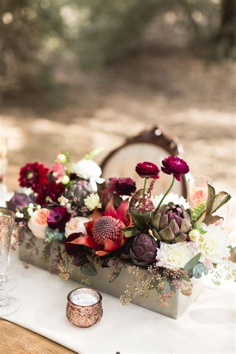 Wedding Center Flowers by 25 Best Ideas About Autumn Flowers On Autumn