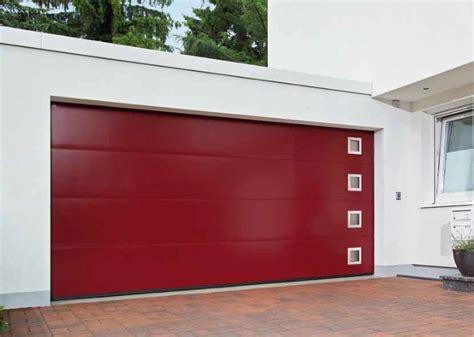 sectional garage doors garage door white timber