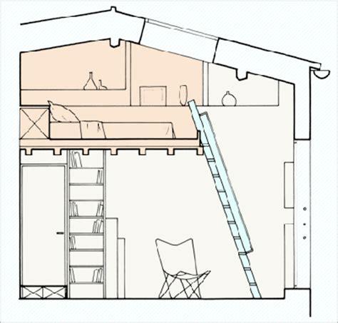 Faire Une Mezzanine Dans Les Combles 3534 by 19 M2 Mon Petit Duplex Bourr 233 D Astuces C 244 T 233 Maison