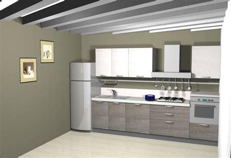 cucina senza frigo cucina lineare 4 metri idee per la casa
