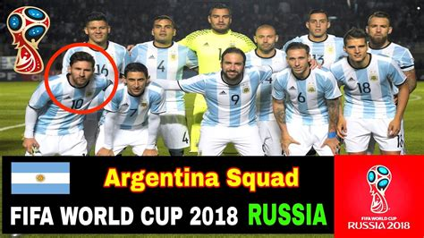 argentina world cup 2018 argentina squad for fifa world cup 2018 in russia hd