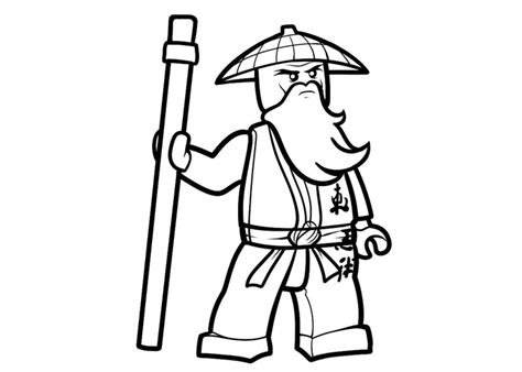 lego ninjago sensei wu coloring pages free coloring pages of ninjago sensei