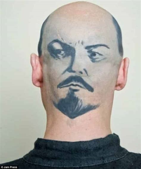 bald head tattoo 18 horrible bald tattoos that are better covered