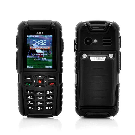 rugged cell wholesale jinhai a81 waterproof phone rugged phone from china