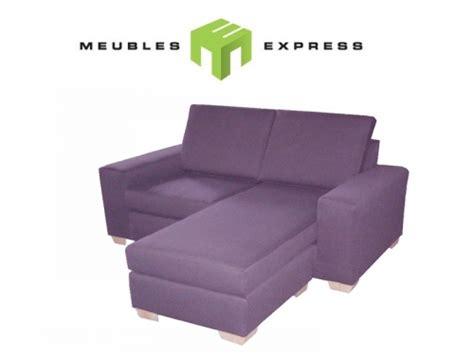 couch express ou sofa avec m 233 ridienne interchangeable gauche ou droit
