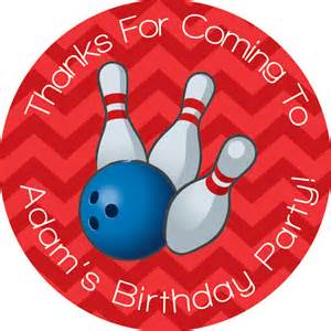 Bowling Stickers