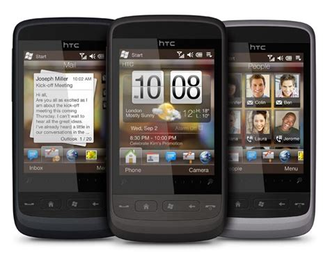themes for mobile htc touch htc touch2 first windows mobile 6 5 smartphone real geek