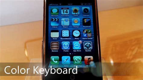 keyboard themes for ios 6 color keyboard tweak para cambiar el theme del keyboard