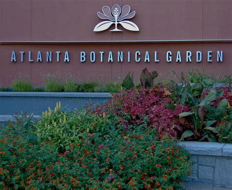 What Is Botanical Garden Atlanta Botanical Garden