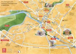 town map brecon town council