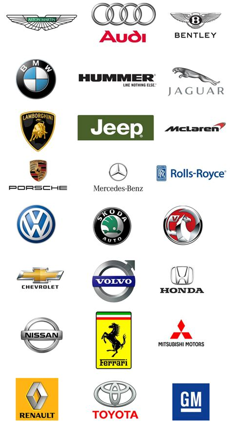 car brands logo cars fancy cars car brands logos