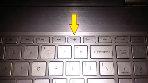 how does home turn on lights keyboard hp envy x360 wireless airplane mode button does