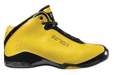 and1 s basketball shoe sabotage yellow