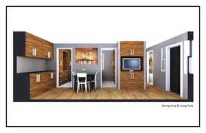 How Big Is 400 Sq Ft by 400 Square Foot House By Jordan Parke At Coroflot Com