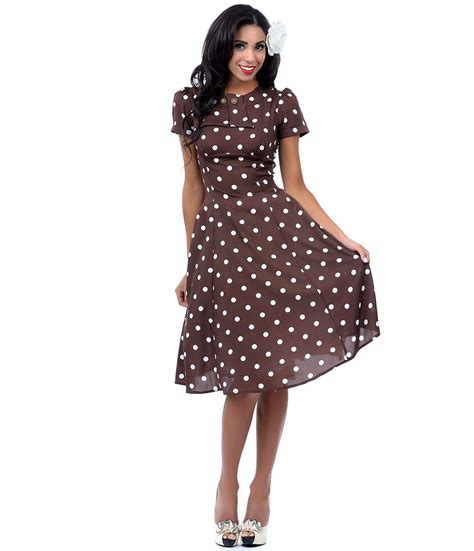 polka dot swing dress swing dress dressed up girl