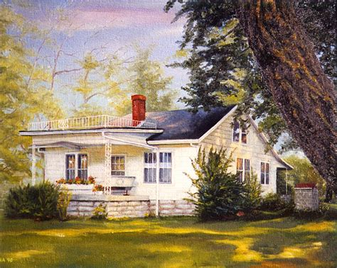 painting of house zdena 187 house portraits