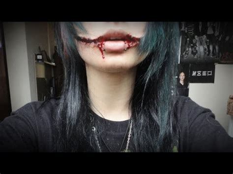 jeff the killer makeup tutorial tutorial make up jeff the killer youtube