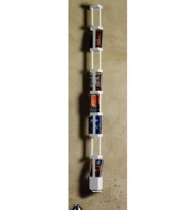 colonna porta dvd tower f porta dvd a colonna girevole da parete in acciaio