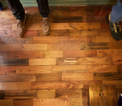 Pallet Board Flooring by Pallet Flooring Everything You Need To