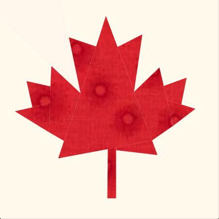 Maple Leaf Quilt Block Pattern by Maple Leaf Quilt Block Adnohr