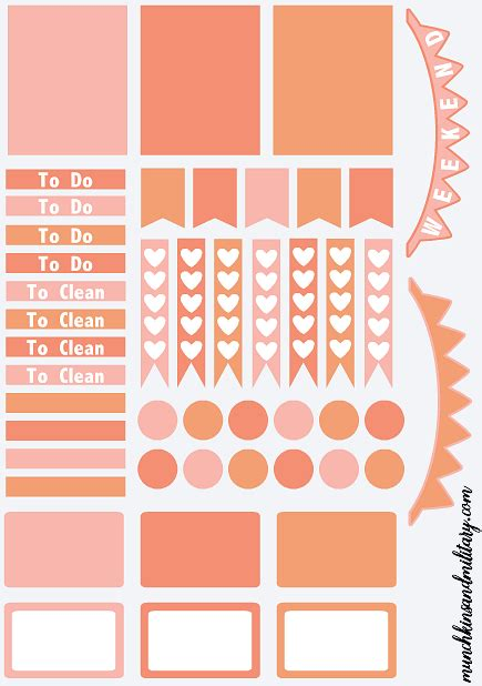 free printable life planner stickers more diy erin condren life planner stickers template