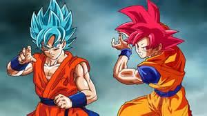 191 transformacion es mas poderosa goku ssj dios rojo goku ssj dios azul