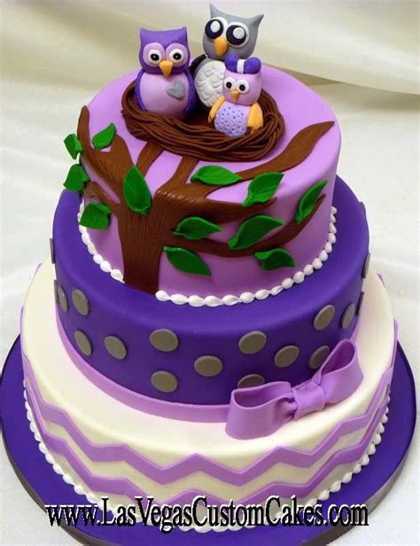 Owl Baby Shower Cakes For A by The Right Owl Baby Shower Cake Xyz