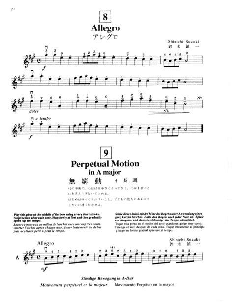 Suzuki Violin Book 1 Perpetual Motion 1suzuki Metododeviolino Vol 1 5
