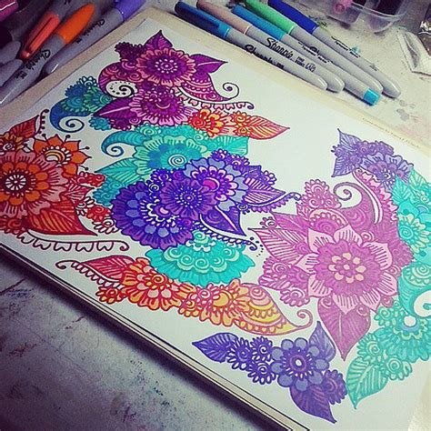 draw doodle and decorate doodle insomnia doodle doodling doodlegalaxy floral f