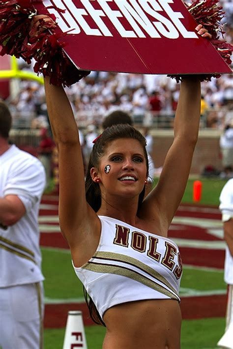 florida state college cheerleaders 15 hottest college football cheerleading squads of 2011