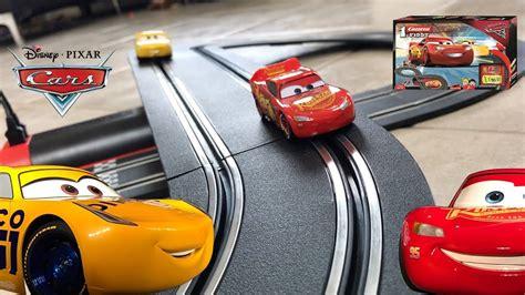 lighting mcqueen race track disney cars 3 race track set lightning