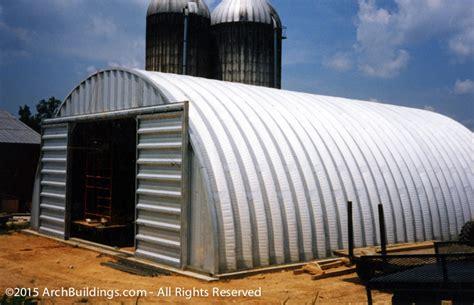 steel arch buildings 20x58 steel arch agricultural building archbuildings com