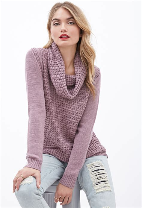 Dress Of The Day Gap Cowl Neck Sweater Dress by Forever 21 Contemporary Mixed Knit Cowl Neck Sweater In