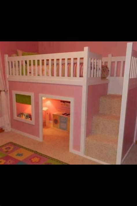 clubhouse bunk bed dollhouse bunk bed kids bedrooms pinterest