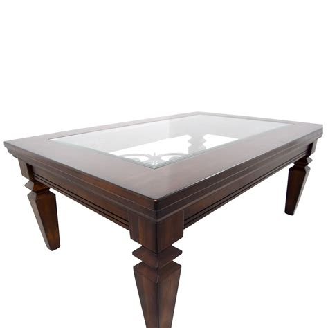 Scrolled Metal And Wood Coffee Table 88 Wood Metal Scroll And Glass Coffee Table Tables