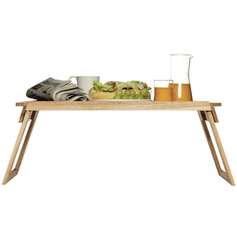 Breakfast Bed Table by Wooden Breakfast In Bed Tray Table Home Designs Project