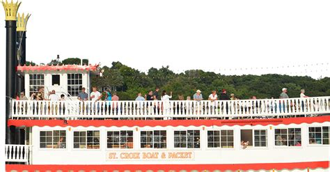 dinner on a boat mn public cruises st croix boat packet