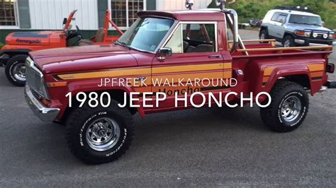 Jeep Honcho Walkaround 1980 Jeep Honcho