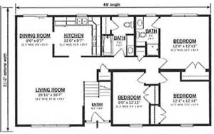 bi level floor plans b149632 1 by hallmark homes bi level floorplan