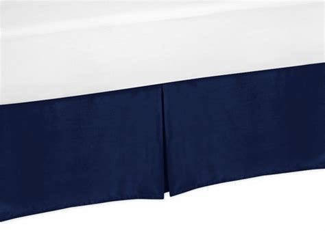 navy bed skirt navy queen bed skirt for navy blue and gray stripe bedding