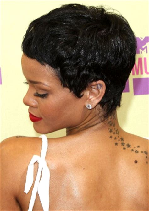 rihanna short hairstyles front and back pictures rihanna s short haircuts best styles over the
