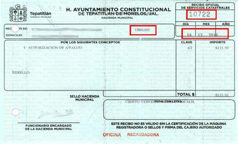 pago del impuesto predial toluca 2016 pago de impuesto predial toluca factura de pago predial