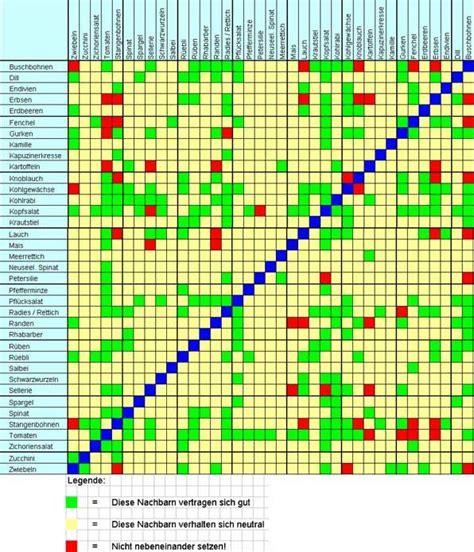 Garten Welche Pflanzen Vertragen Sich Nicht by Welche Pflanzen Vertragen Sich Tabelle Die Besten 17