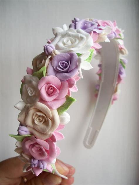 Handmade Flower Hair - handmade flower hair clip