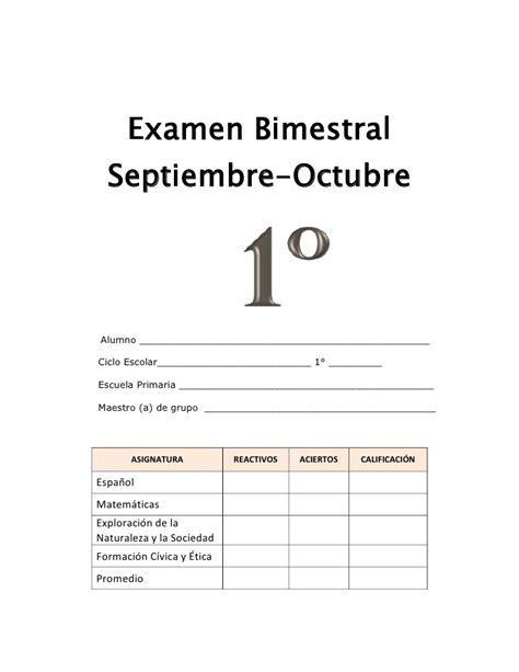 examen de primer bimestre de tercero 2015 lainitas examen primer bimestre 1 186