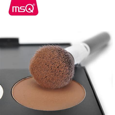 Make Up Brush 15pcs by Msq Make Up Brush Synthetic Hair 15pcs Black